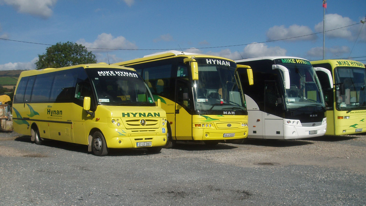Fleet of coaches