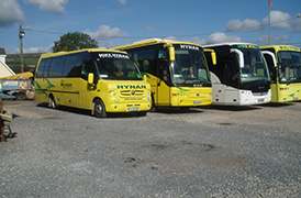 Hynan Coaches fleet