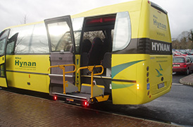 Yellow coach disabled ramp